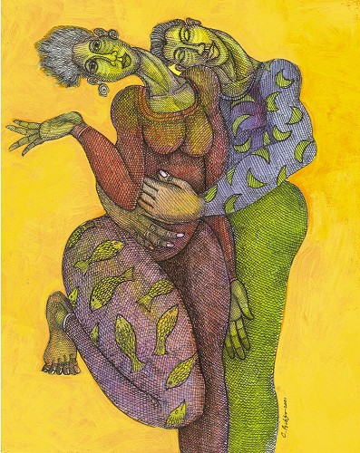 I Feel You by Charles Bibbs Image is watermarked for copyright protection and is not present on the actual art work.