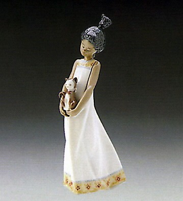Close To My Heart by Lladro Black Legacy Image is watermarked for copyright protection and is not present on the actual art work.