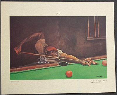 Jake Lithograph by Ernie Barnes Image is watermarked for copyright protection and is not present on the actual art work.