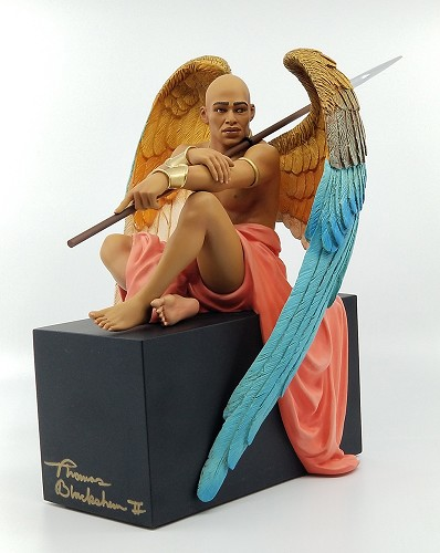 Angel At Rest Artist Proof Hand Signed By Thomas Blackshear by Thomas Blackshear Image is watermarked for copyright protection and is not present on the actual art work.