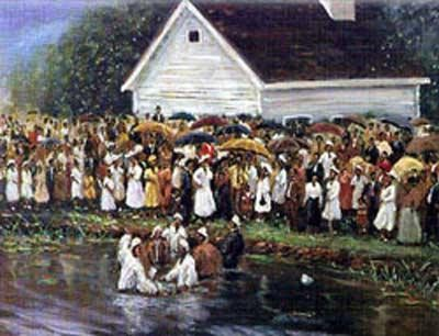The Gathering by Ted Ellis Image is watermarked for copyright protection and is not present on the actual art work.