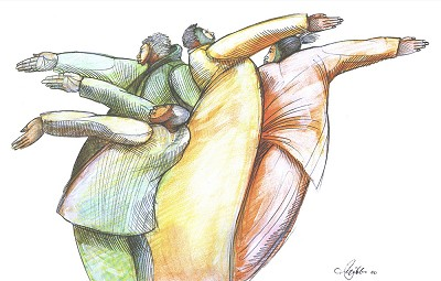 Giving Hands Giclee by Charles Bibbs Image is watermarked for copyright protection and is not present on the actual art work.