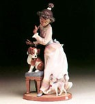 My Turn by Lladro Black Legacy Image is watermarked for copyright protection and is not present on the actual art work.
