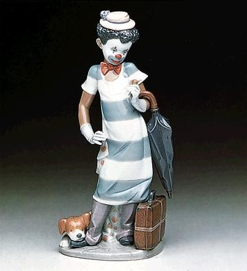 On The Move by Lladro Black Legacy Image is watermarked for copyright protection and is not present on the actual art work.