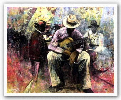 Big Easy's Set Artist Proof by (Twin) Jerry Lynn and Terry Lynn Image is watermarked for copyright protection and is not present on the actual art work.