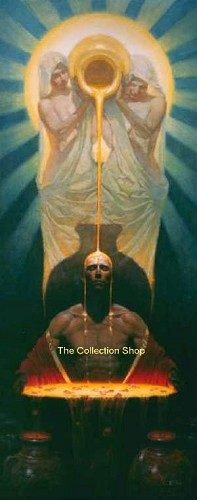 The Vessel by Thomas Blackshear Image is watermarked for copyright protection and is not present on the actual art work.