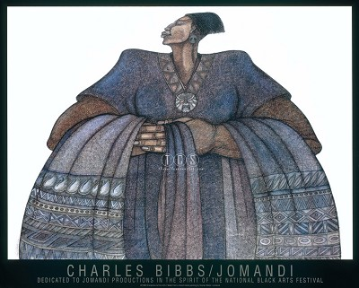 Jomandi Special Edition Remarque by Charles Bibbs Image is watermarked for copyright protection and is not present on the actual art work.