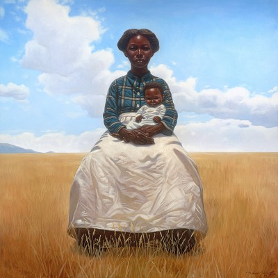 La Madona by Kadir Nelson Image is watermarked for copyright protection and is not present on the actual art work.