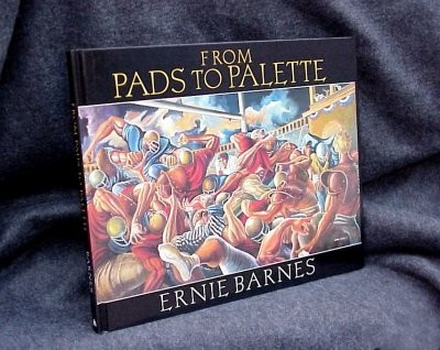 From Pads To Palette by Ernie Barnes Image is watermarked for copyright protection and is not present on the actual art work.