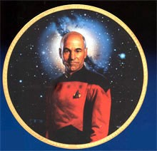 Star Trek Picard - The Next Generation by Thomas Blackshear Image is watermarked for copyright protection and is not present on the actual art work.