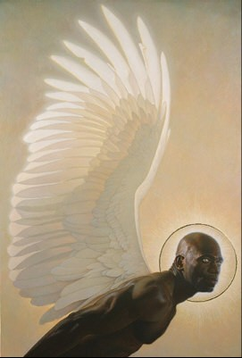 The Watcher  Limited Edition Print by Thomas Blackshear Image is watermarked for copyright protection and is not present on the actual art work.