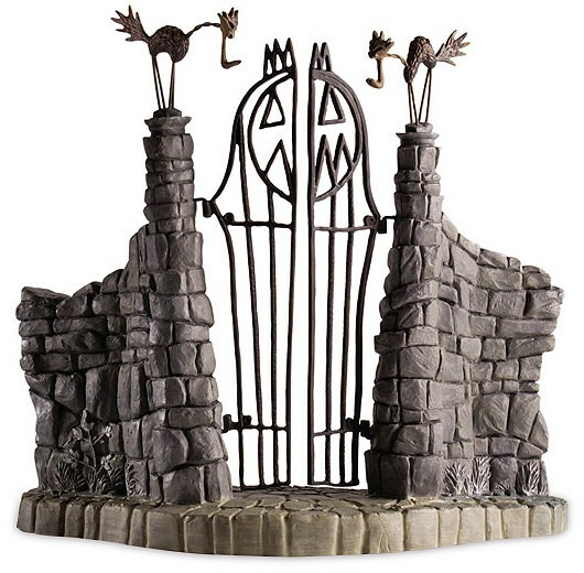 Wdcc disney classics the nightmare before christmas gate jack nightmare before christmas gate jack skeletons gate enlarge image send ecard voltagebd Image collections