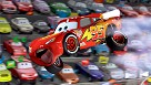 Cars Air McQueen Giclee on Canvas