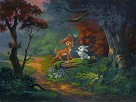 A Friendship Blossoms From The Movie Bambi