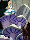 Alice (on Mushroom) - From Alice in Wonderland