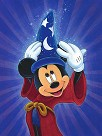 Magic is in the Air Giclee on Canvas - From Disney Fantasia