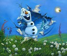 Bursting Into Spring Premiere From The Movie Frozen