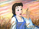Daydreams Giclee on Canvas - From Disney Beauty and The Beast