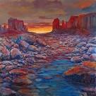 Desert Pool Giclee