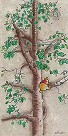 Hunny Tree Hand Embellished Giclee on Canvas - From Disney Winnie the Pooh