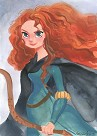 Merida From Disney Brave