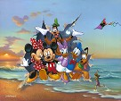 Mickey and the Gang's Grand Entrance