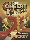 Maestro Mickeys Band Concert