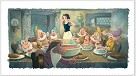 The Lost Soup Scene Snow White And The Seven Dwarfs