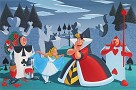 Turn Your Toes Out Giclee on Canvas - From Disney Alice in Wonderland