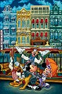 The Magic of Main Street Giclee on Canvas