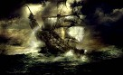 Pirates of The Caribbean Cursed Voyage Giclee on Canvas