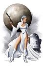 Leia From Lucas Films Star Wars
