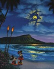 A Night Romance Giclee On Canvas