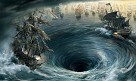 Pirates of The Caribbean Maelstrom Giclee on Canvas