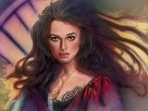 Elizabeth Swan Giclee On Canvas - From Pirates of the Caribbean