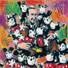 Walt and Friends Giclee on Canvas