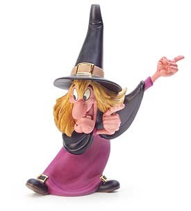 WDCC Disney Classics Trick Or Treat Witch Hazel Brewing Up Trouble