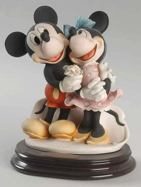 Giuseppe Armani Mickey & Minnie - Ltd. Ed. 2003