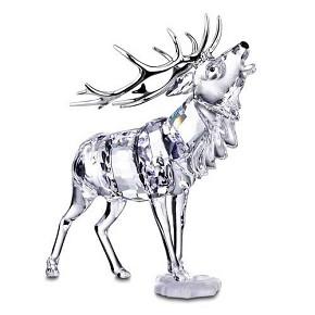 Swarovski stag - Swarovski stag figurine ...