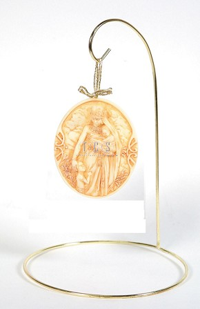 Ebony Visions Madonna Ornament