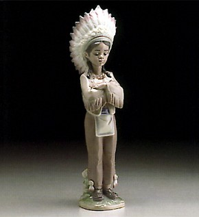 Lladro Indian Boy 1995-99