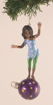 Ebony Visions Tiny Tina Ornament