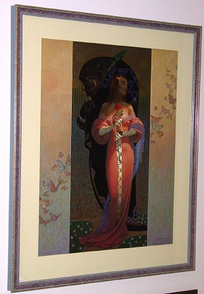 Thomas Blackshear Beauty And The Beast - Framed Print
