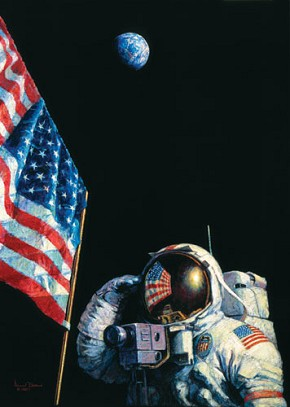Alan Bean An American Success Story Limited Edition Canvas