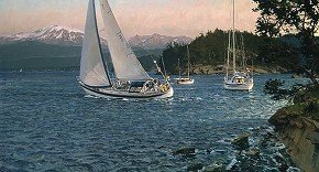 Christopher Blossom Windward Limited Edition Print