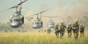 William Phillips First Boots On The Ground Limited Edition Print