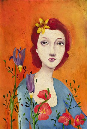 Cassandra Barney Fleur Limited Edition Canvas