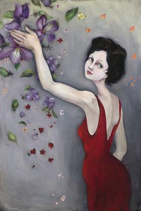 Cassandra BarneyVioletta Limited Edition Canvas