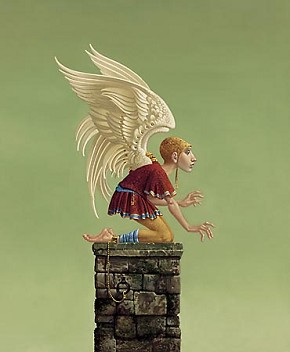 James ChristensenIcarus Bound Limited Edition Print