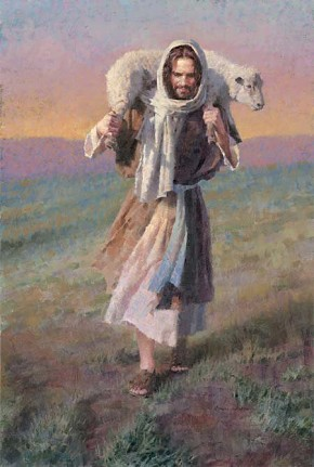 Morgan Westling The Lord Is My Shepherd Canvas